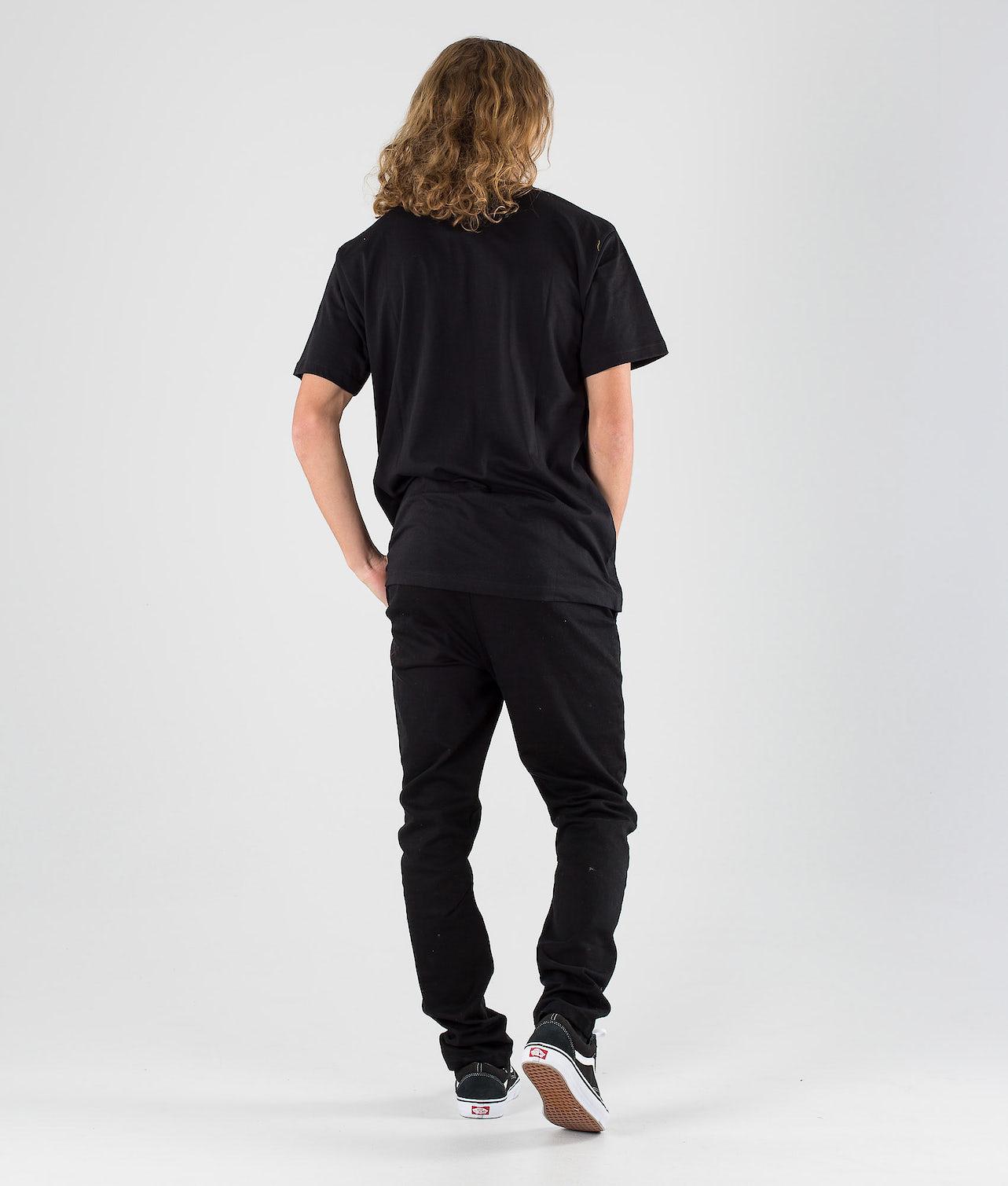 SQRTN Wavy T-shirt Black