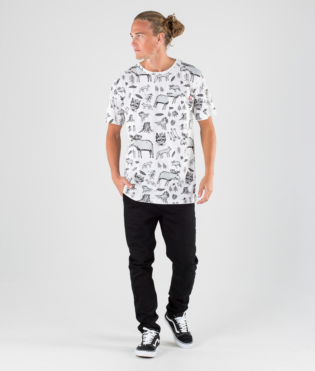 Kjøp Animal Pocket T-shirt fra SQRTN på Ridestore.no - Hos oss har du alltid fri frakt, fri retur og 30 dagers åpent kjøp!