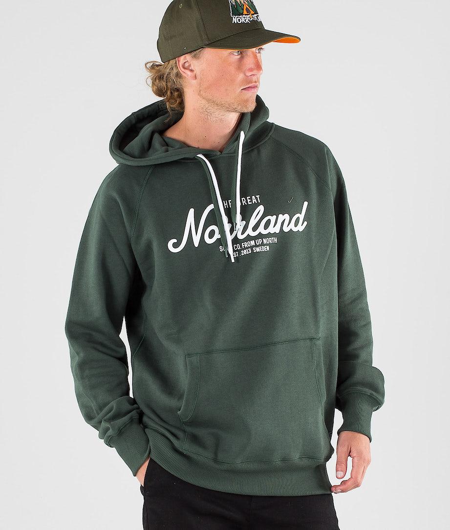 SQRTN Great Norrland Hoodie Dark Olive