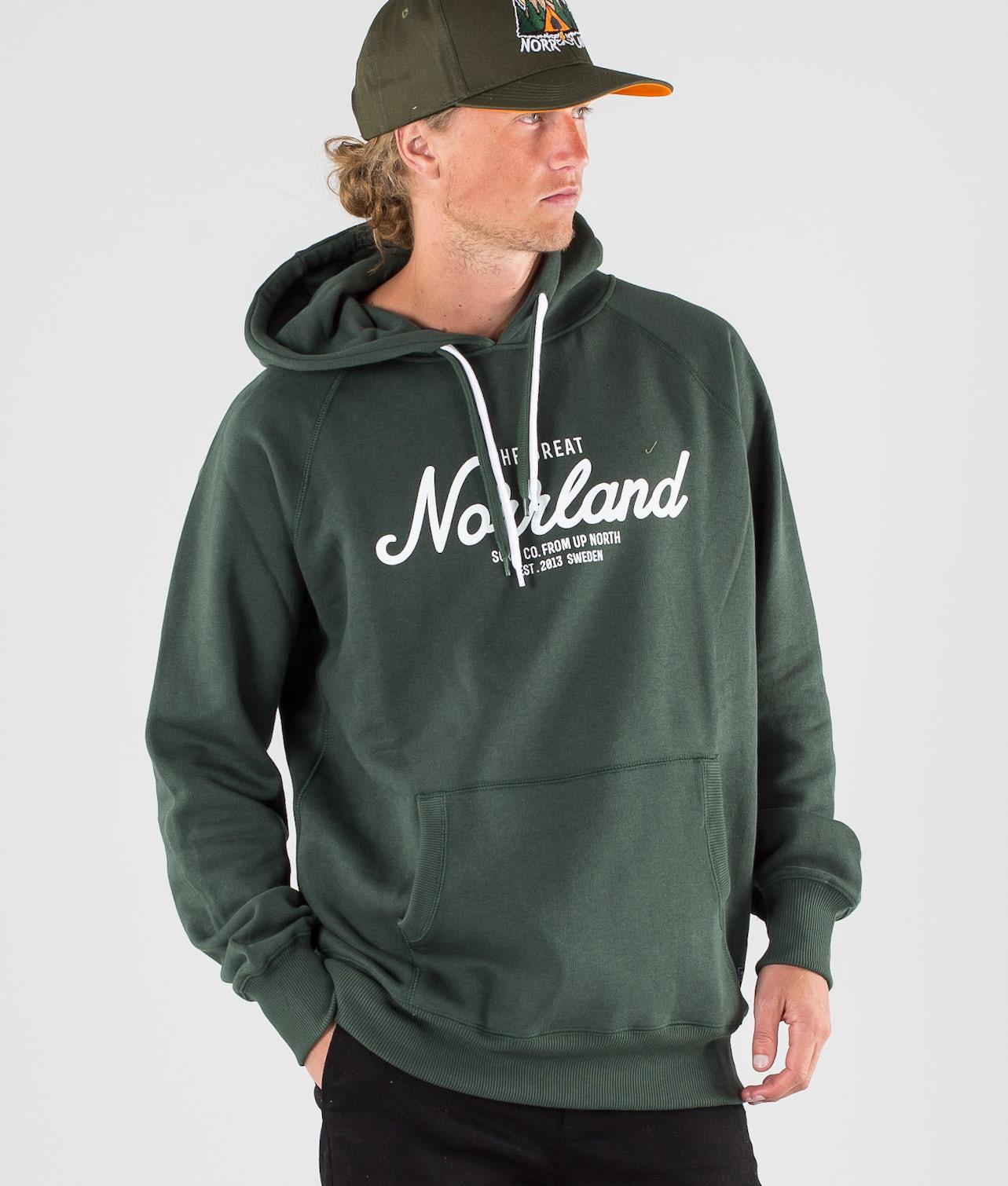 SQRTN Great Norrland Hood Dark Olive