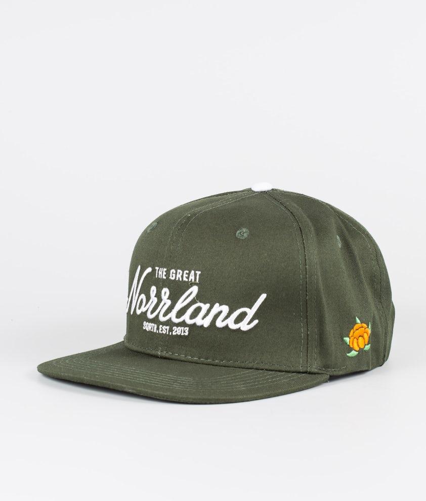 SQRTN Great Norrland Caps Dark Olive