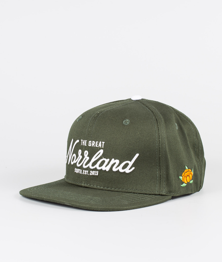 SQRTN Great Norrland Cap Dark Olive