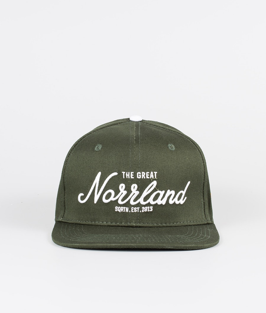 SQRTN Great Norrland Keps Dark Olive