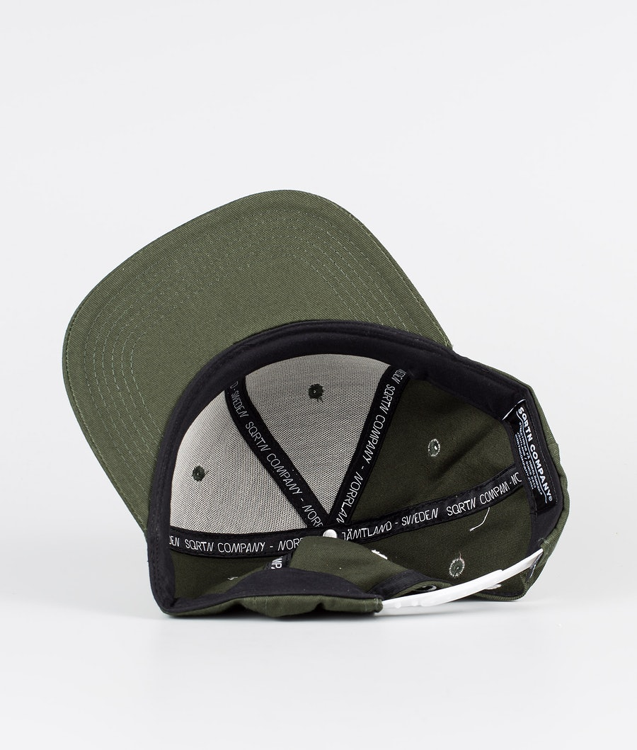 SQRTN Great Norrland Caps Dark Olive
