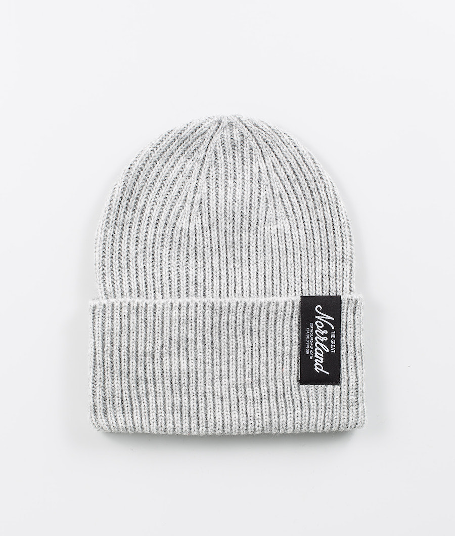 SQRTN TGN Patch Raw Beanie Grey