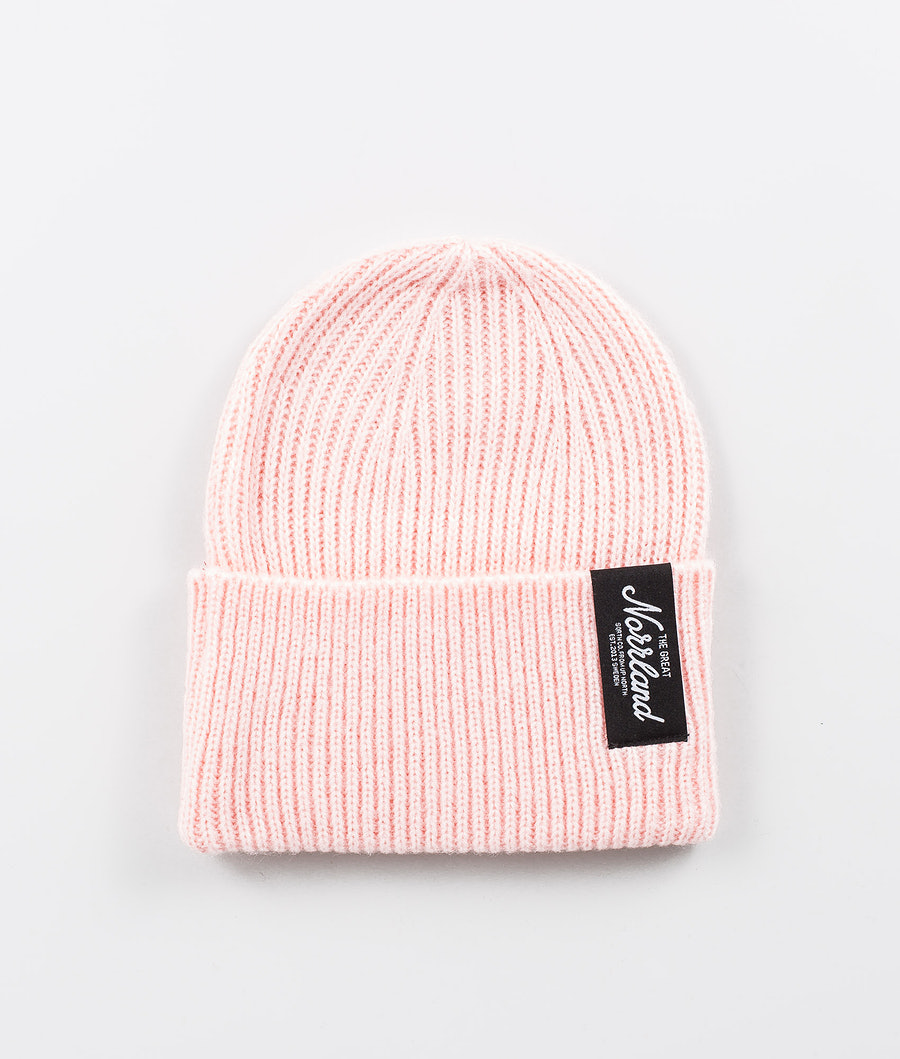 SQRTN TGN Patch Raw Beanie Light Pink