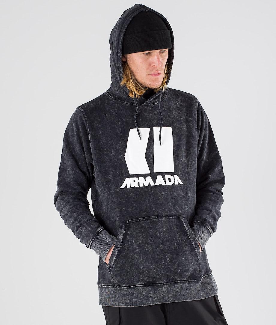 Armada Icon Hoodie Black Enzyme