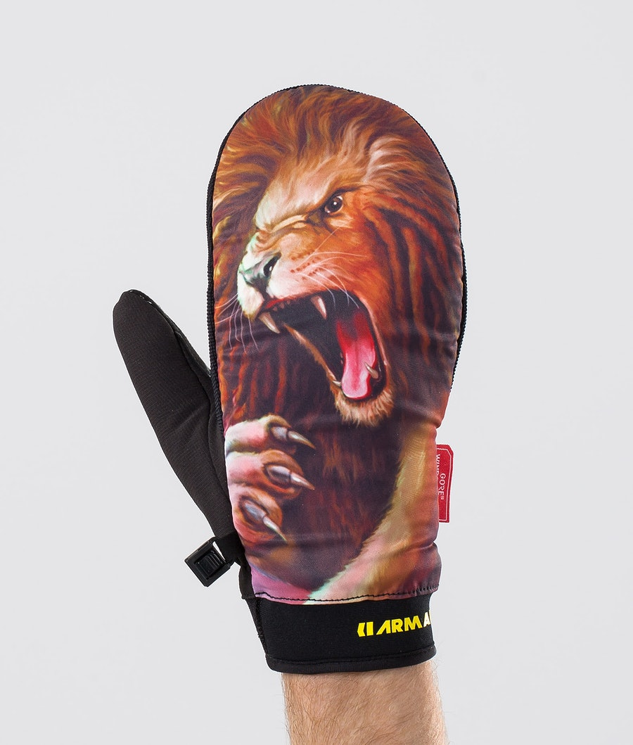 Armada Carmel Ski Gloves Lion