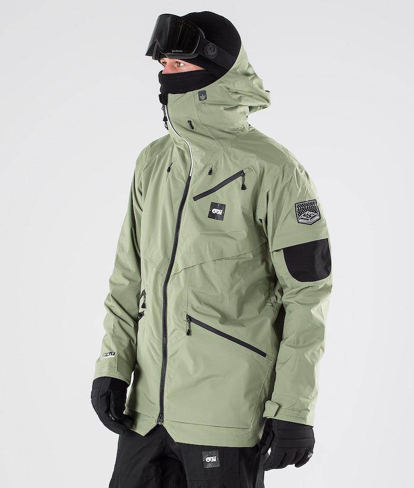 Picture Zephir Snowboardjakke Army Green