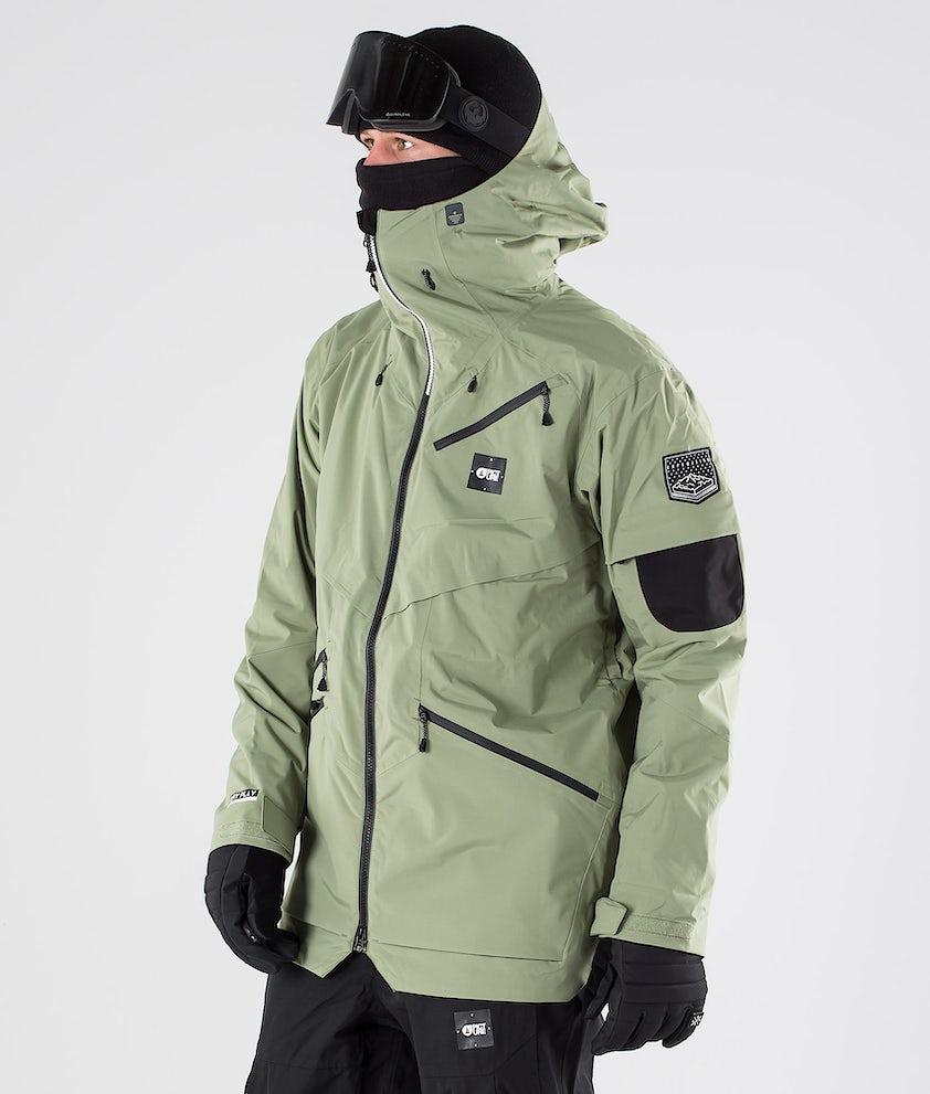 Picture Zephir Snowboardjacke Army Green