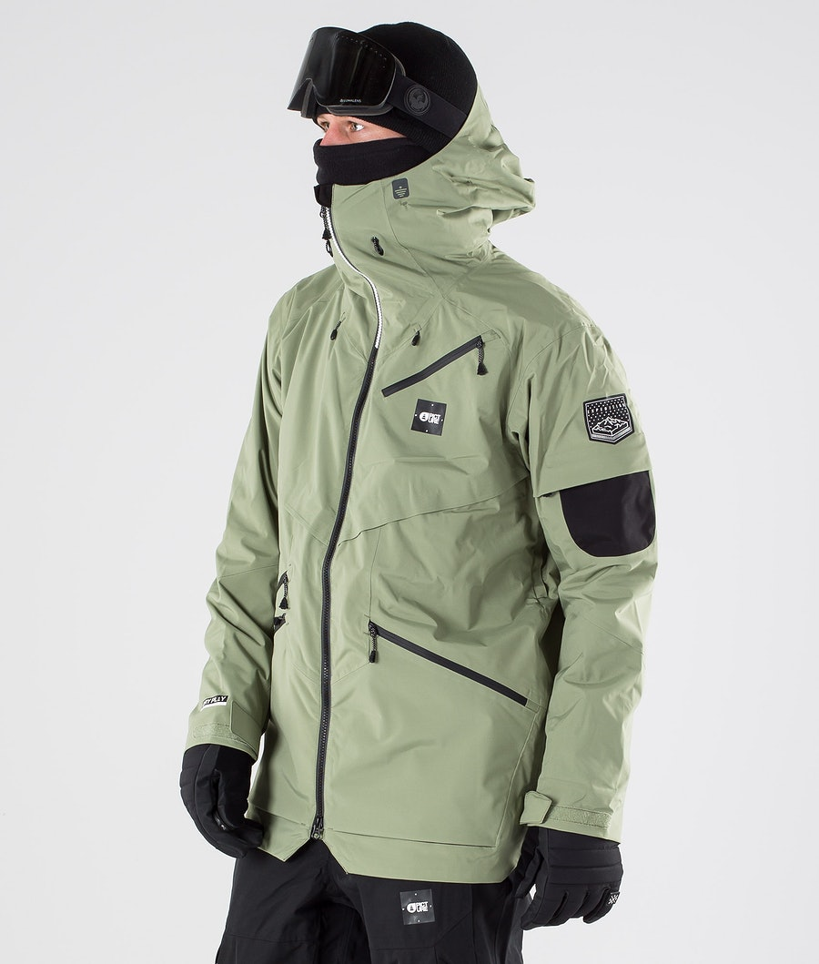 Picture Zephir Snowboard Jacket Army Green