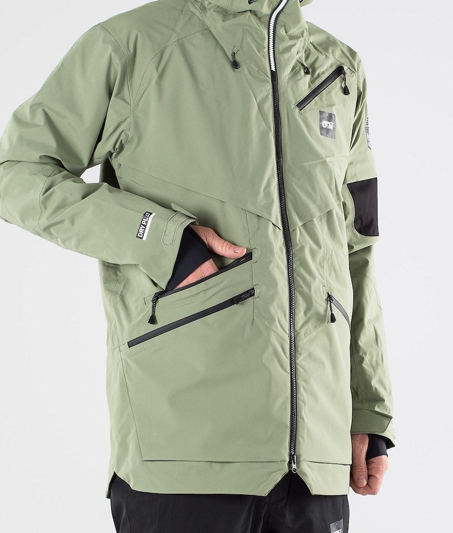 Picture Zephir Snowboard jas Army Green