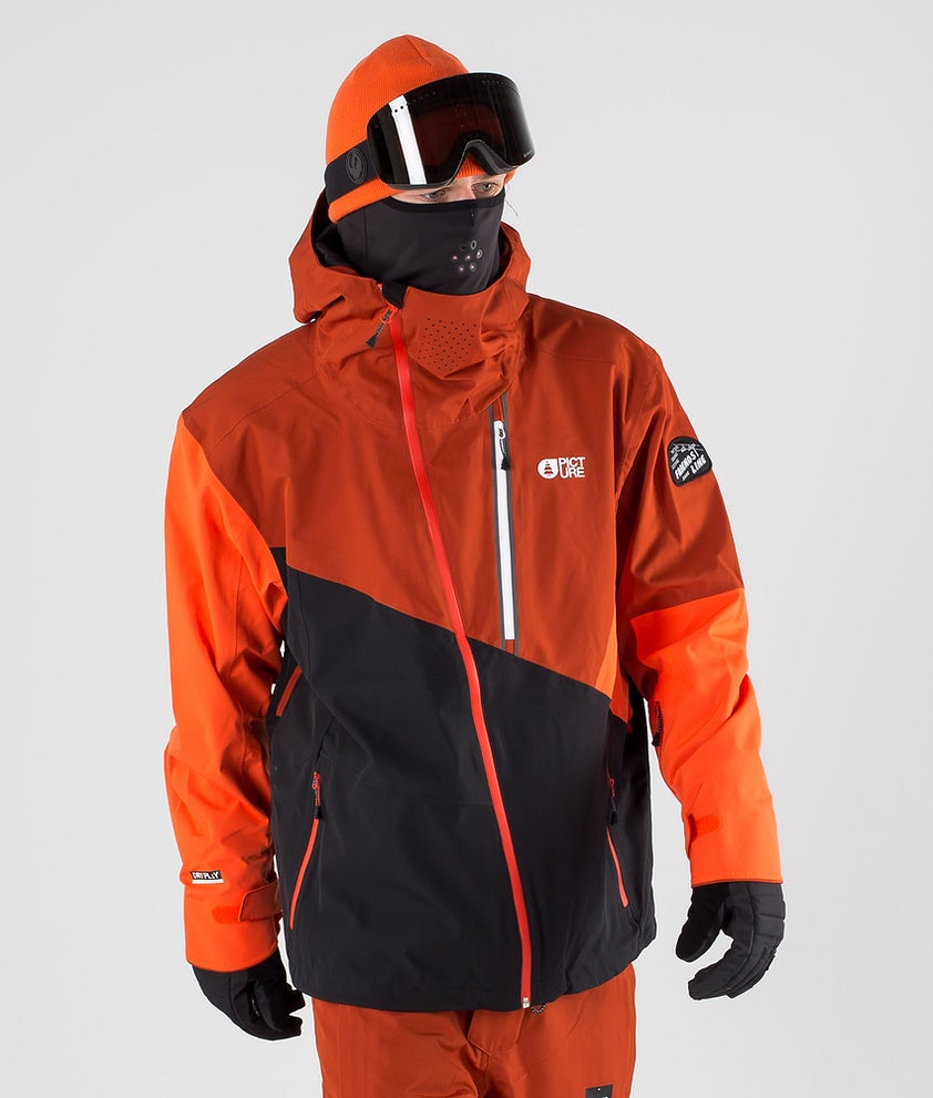 Picture Alpin Snowboard Jacket Black Brick