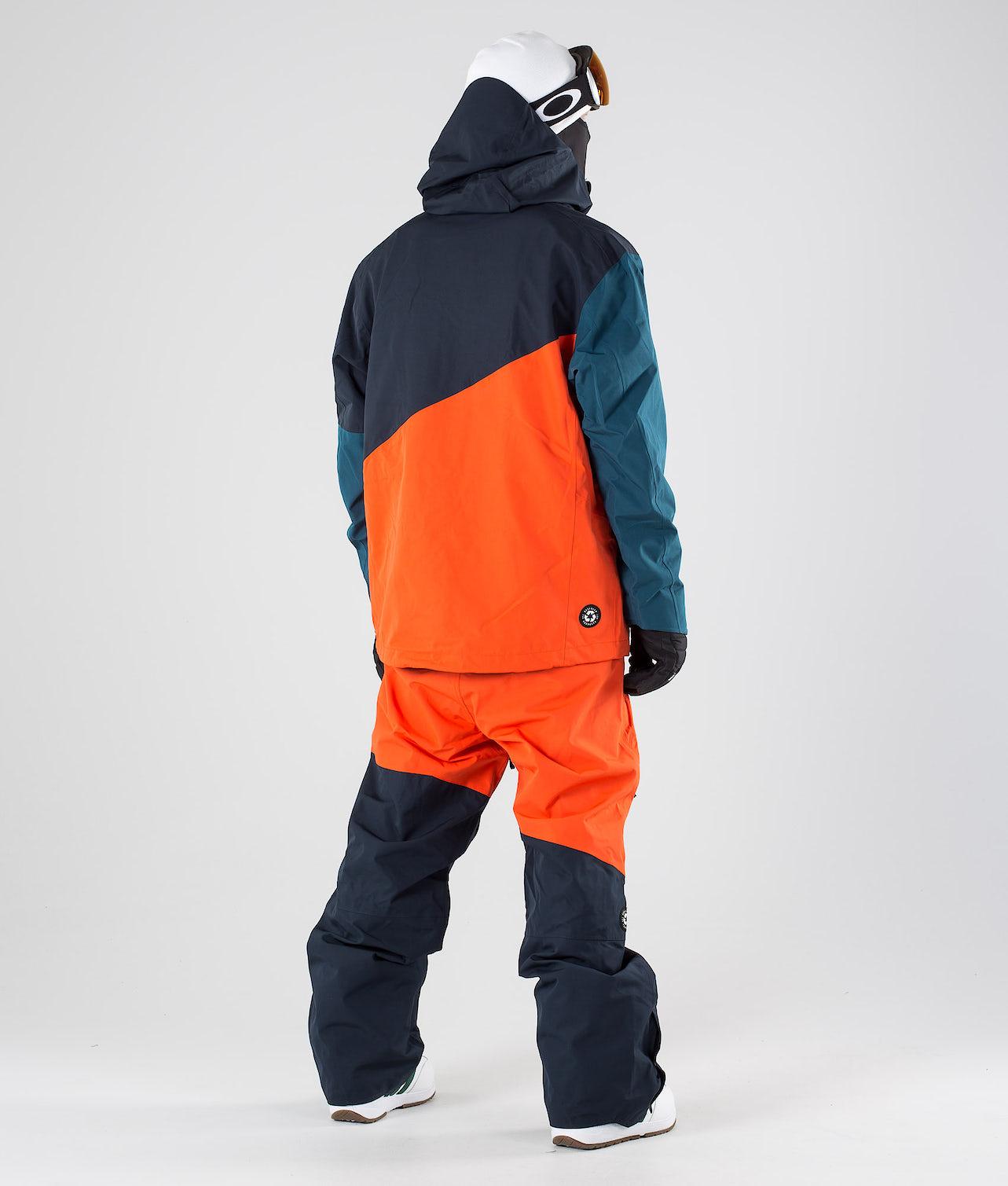 Picture Alpin Lumilautailutakki Orange Dark Blue