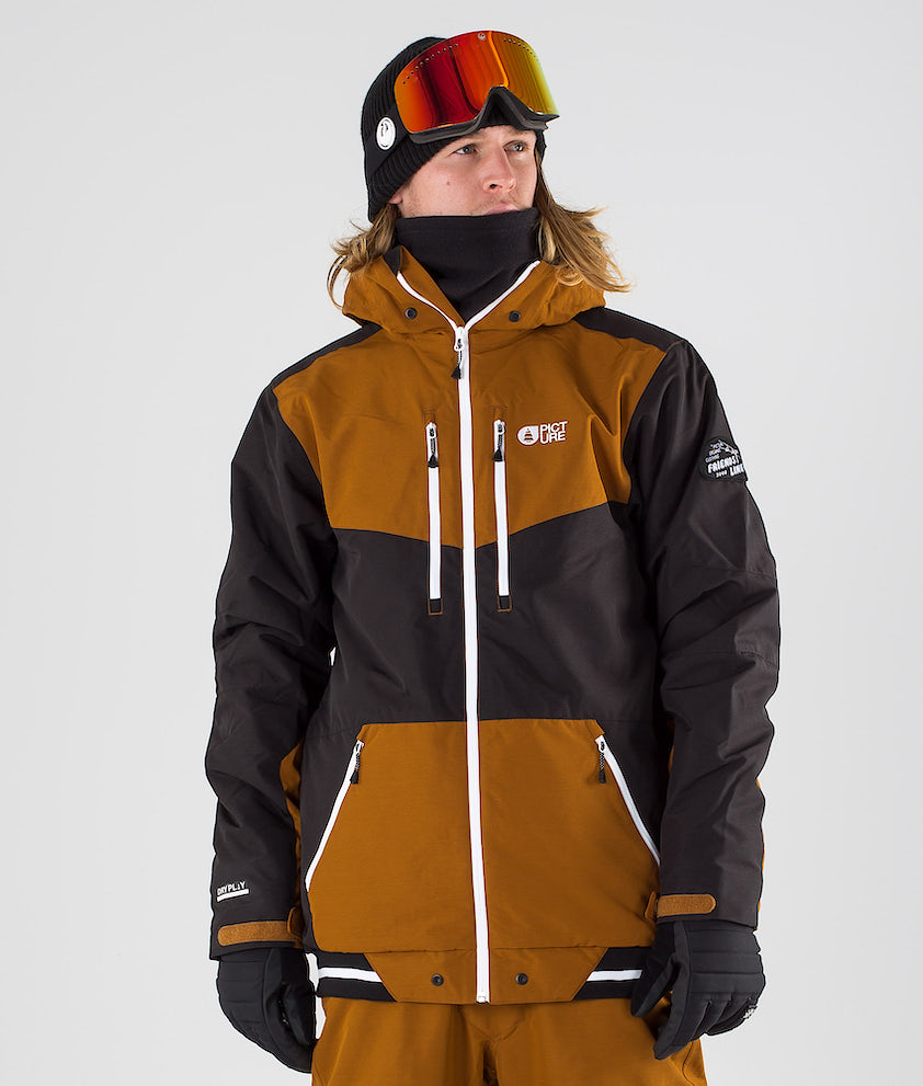 Picture Panel Snowboard Jacket Sand