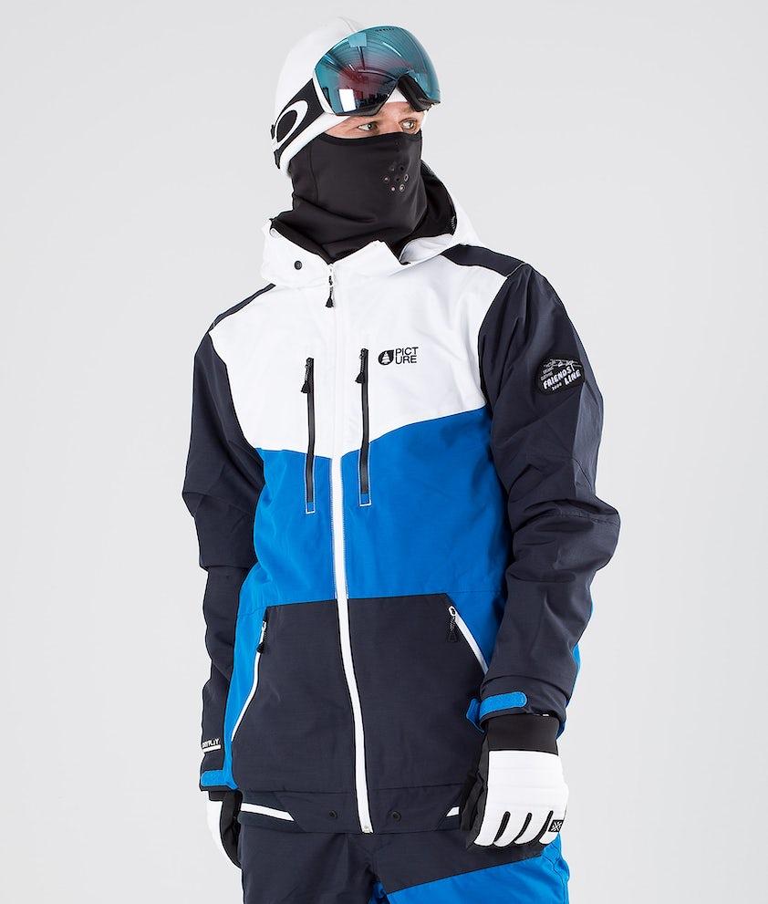 Picture Panel Snowboardjakke Blue