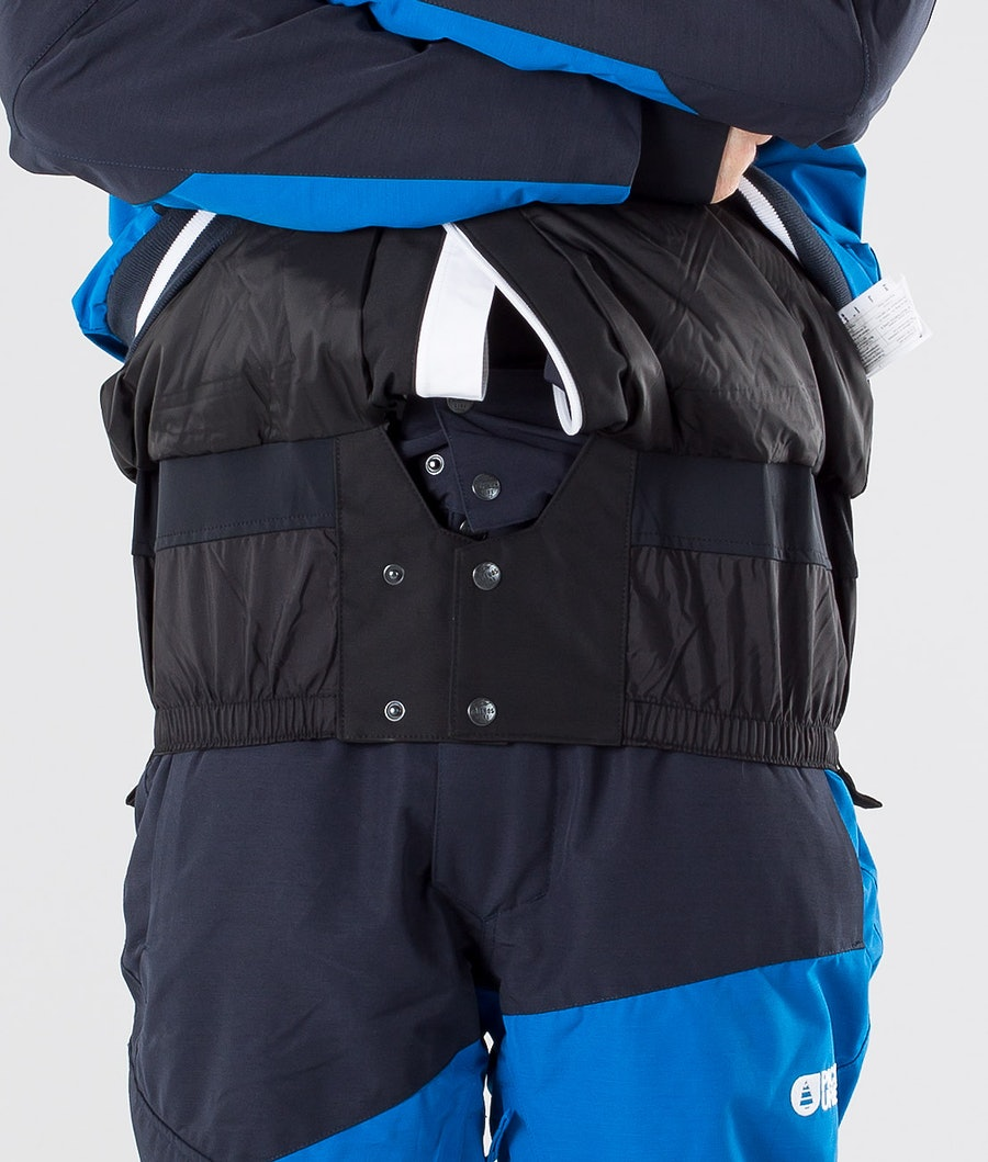Picture Panel Snowboardjacke Blue