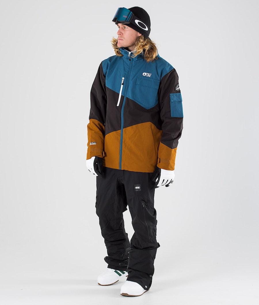 Picture Styler Snowboardjakke Camel