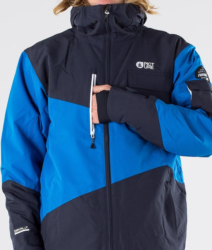 Picture Styler Snowboardjacka Blue