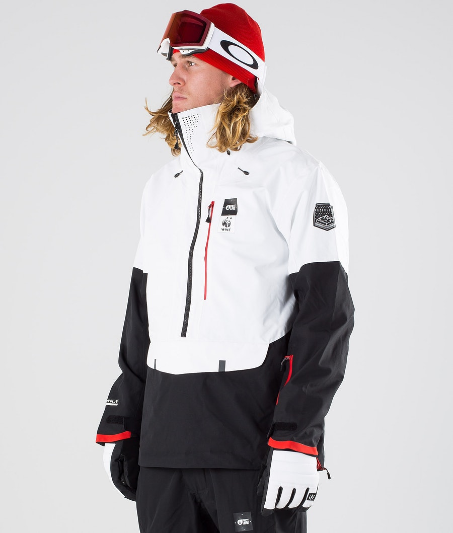 Picture WWF Anton Snowboardjacke WWBlack & White