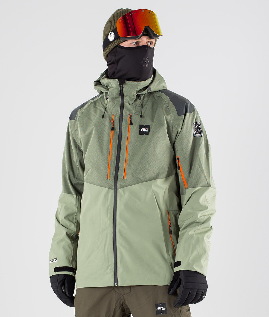 Picture Goods Veste de Snowboard Dark Army Green
