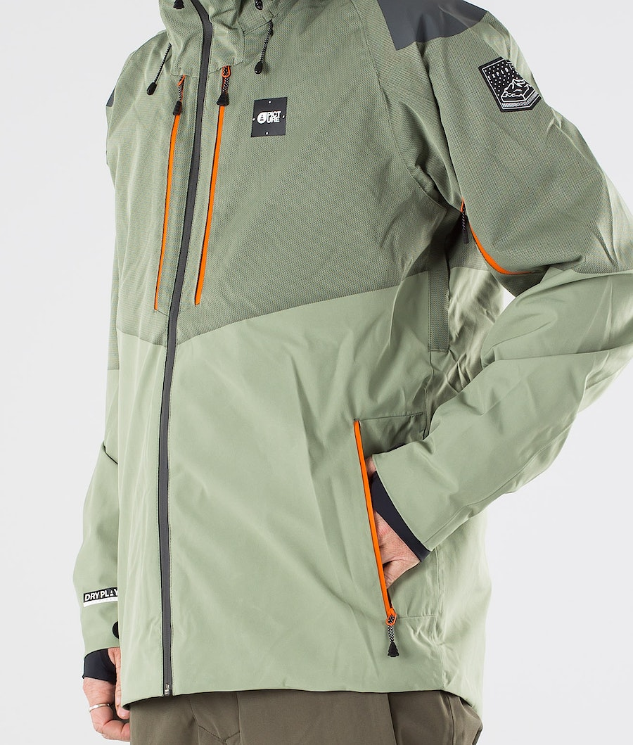 Picture Goods Snowboard Jacket Dark Army Green