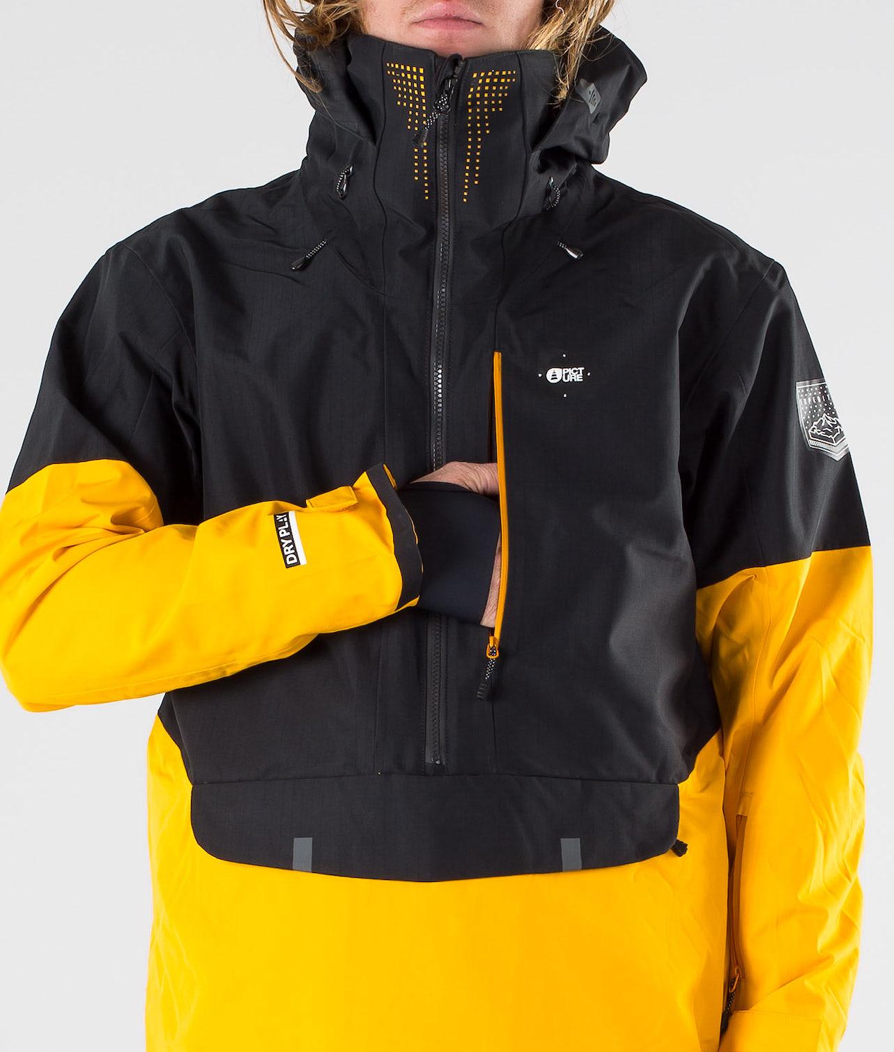 Kjøp Anton Snowboardjakke fra Picture på Ridestore.no - Hos oss har du alltid fri frakt, fri retur og 30 dagers åpent kjøp!
