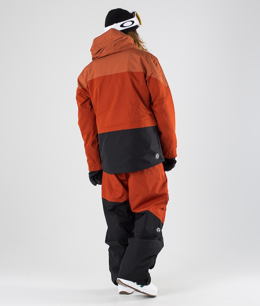 Picture Object Snowboardjacke Brick