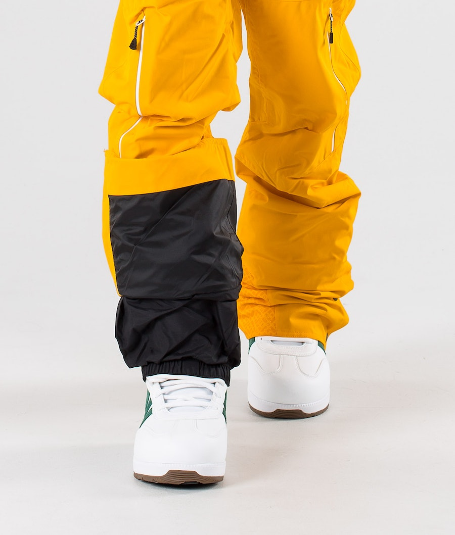 Picture Object Snow Pants Yellow