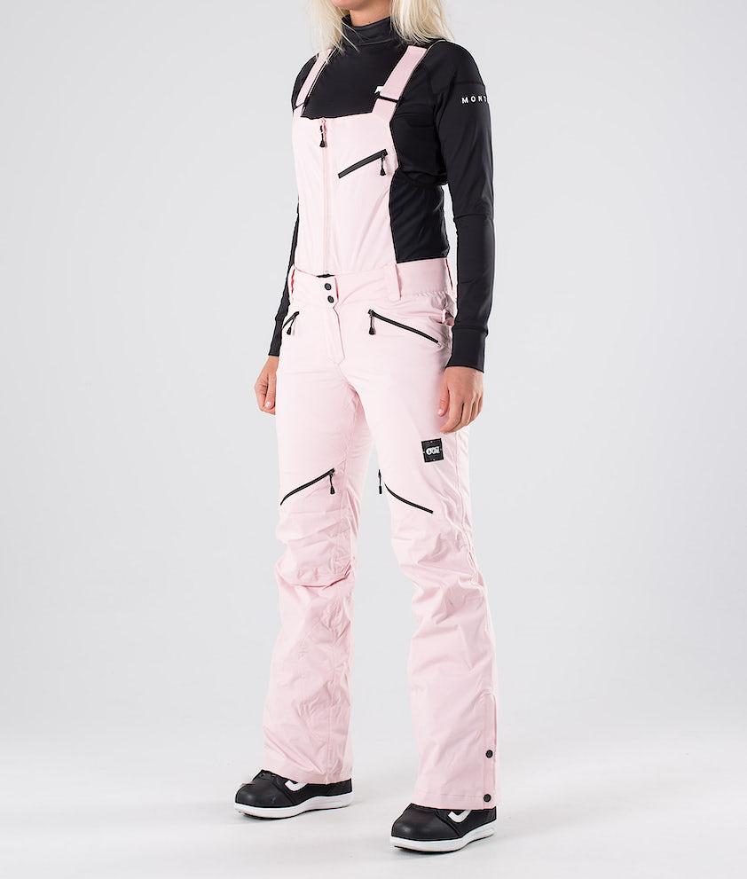 Picture Haakon Bib Snowboardbukse Pink