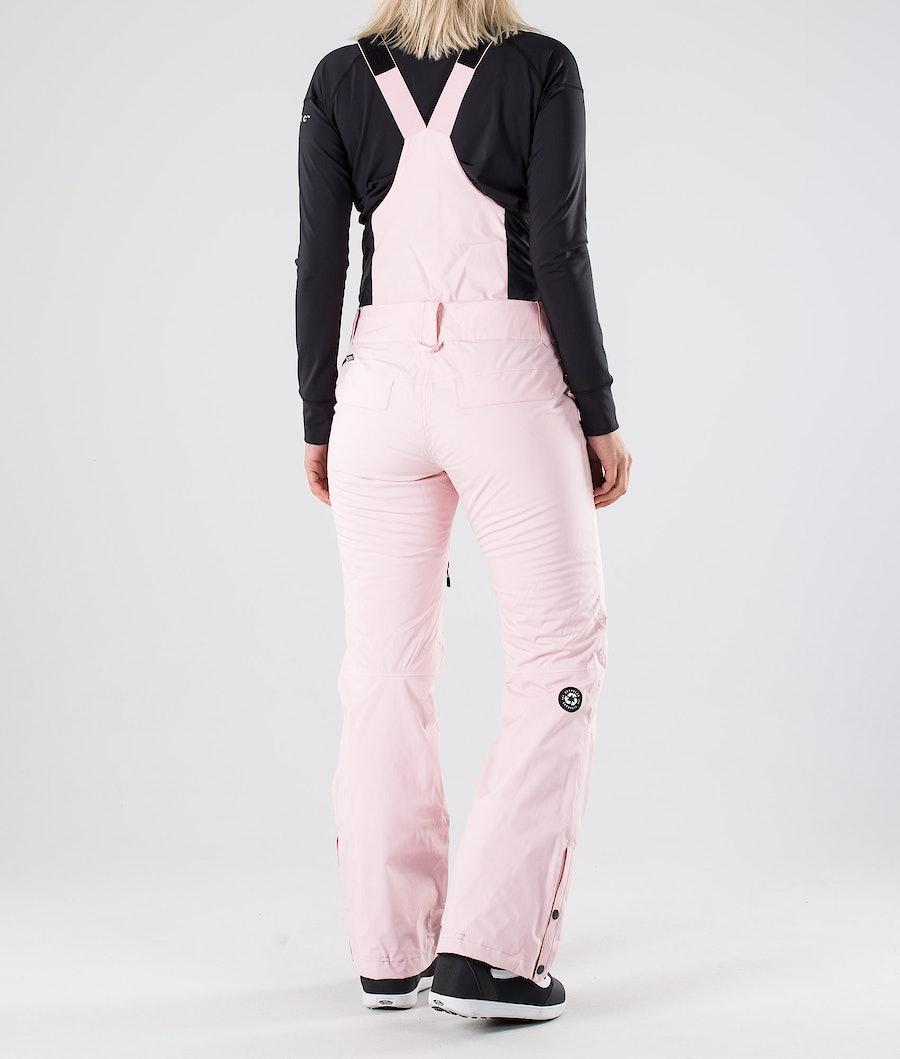 Picture Haakon Bib Snowboardbukse Dame Pink
