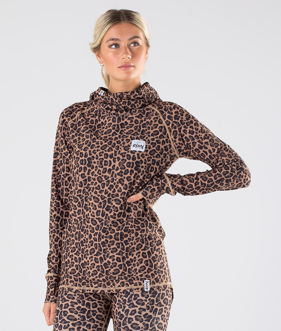 Eivy Icecold Top Tee-shirt thermique Leopard