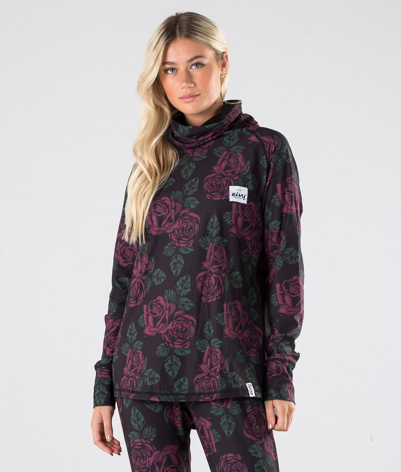 Buy Boyfriend Gaiter Top Base Layer Top from Eivy at Ridestore.com - Always free shipping, free returns and 30 days money back guarantee