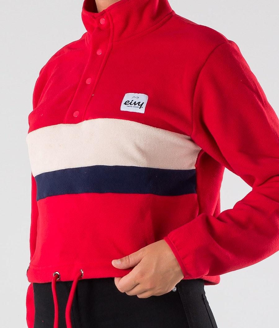 Eivy Meg Fleece Cropped Women's Jacket Red