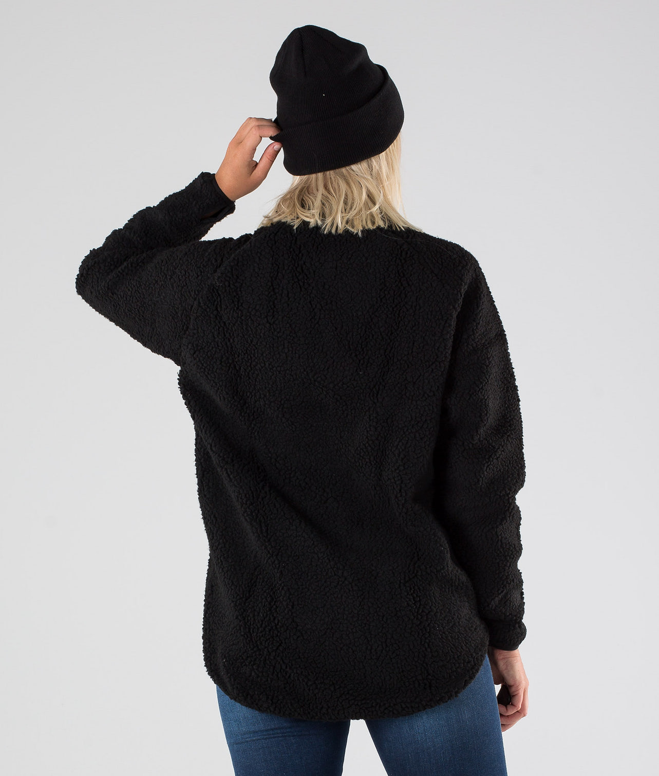 Eivy Redwood Sherpa Jacket Jakke Black