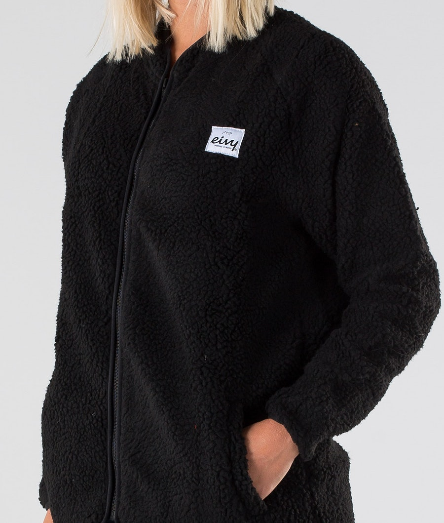 Eivy Redwood Sherpa Jacket Jacka Dam Black