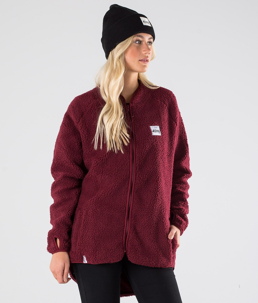 Eivy Redwood Sherpa Jacke Wine