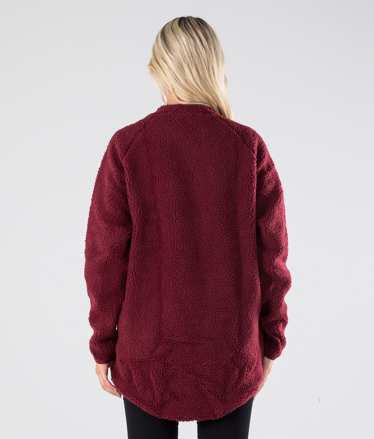 Eivy Redwood Sherpa Jacket Jacka Wine