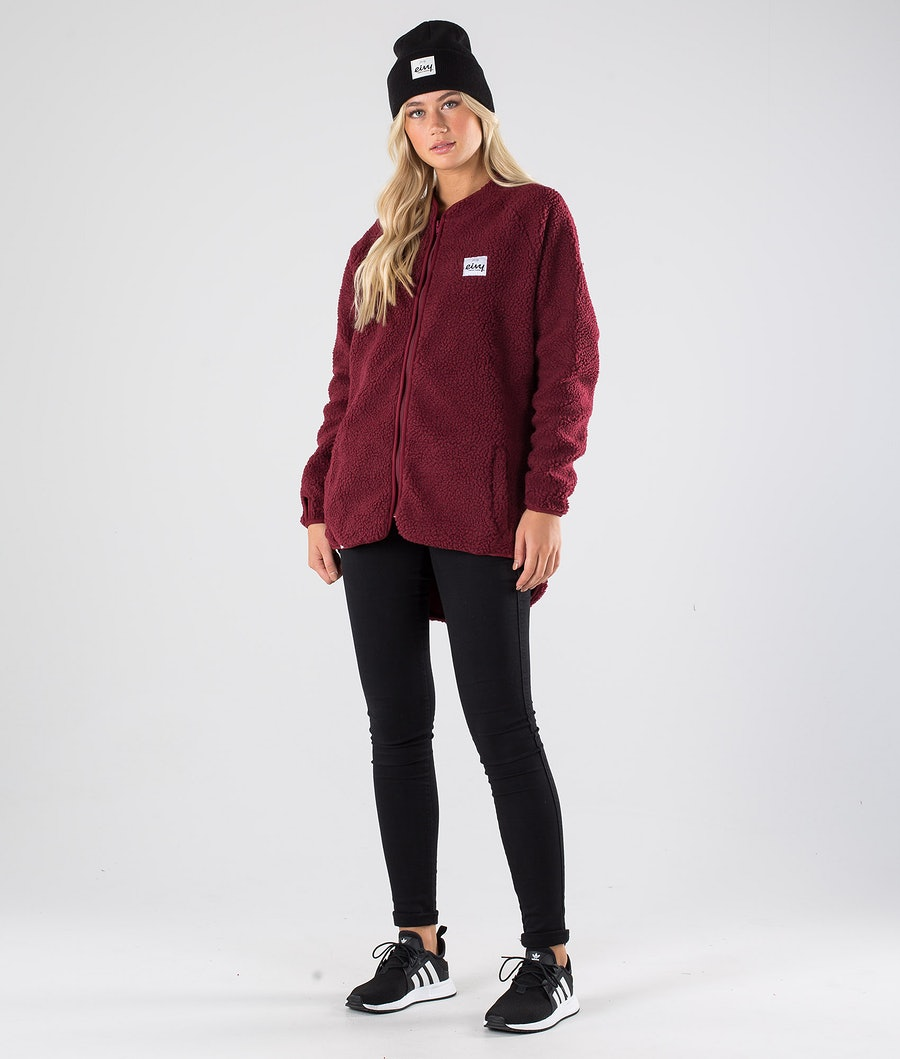 Eivy Redwood Sherpa Women's Jacket Wine