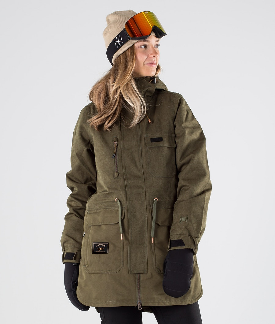 L1 Emma Snowboard Jacket Military