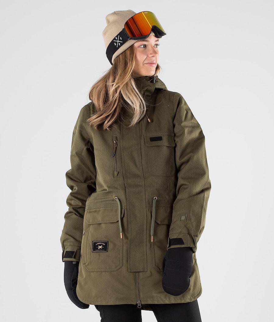 L1 Emma Snowboard Jacket Military