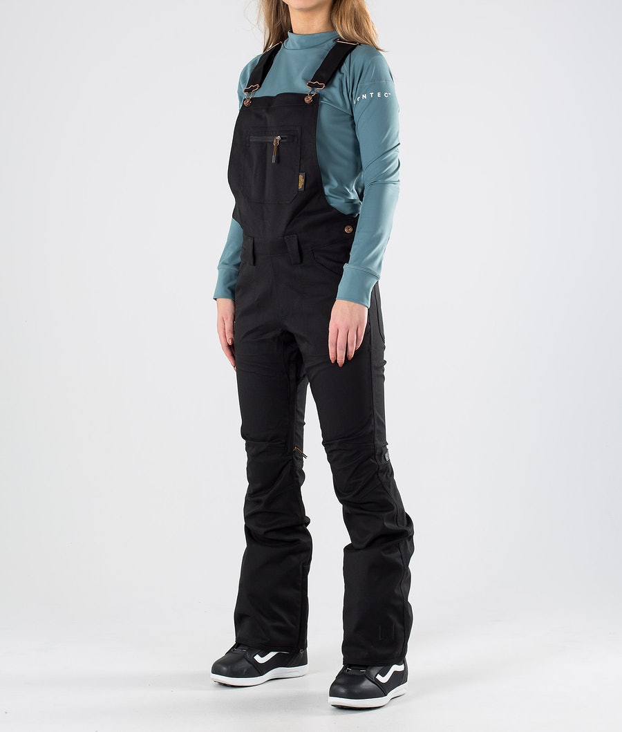L1 Loretta Overall Snow Pants Black