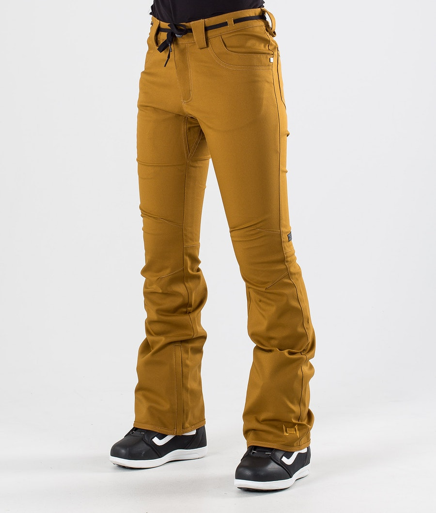 L1 Heartbreaker Twill Snow Pants Tobacco