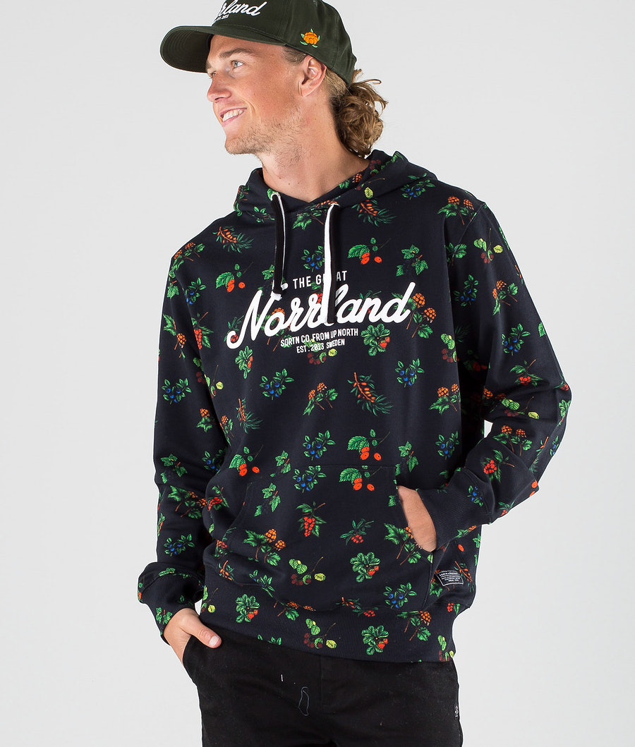 SQRTN Great Norrland Hoodie Berry Black