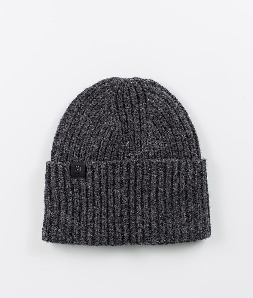 Peak Performance Mason Beanie Dark Grey Melange