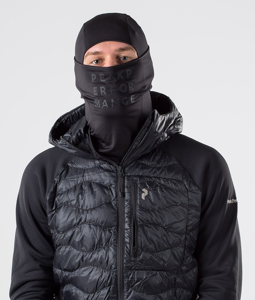 Peak Performance Balaclava Mössa Black