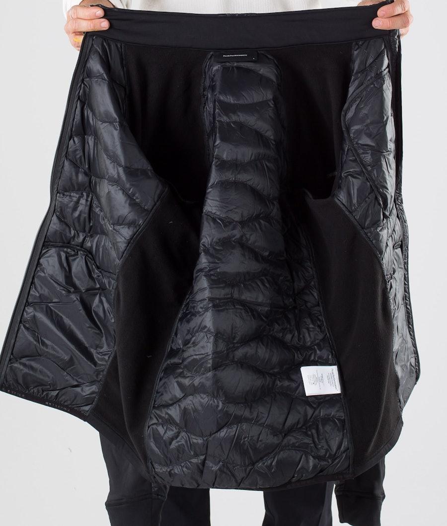 Peak Performance Helium Hybrid Jakke Black