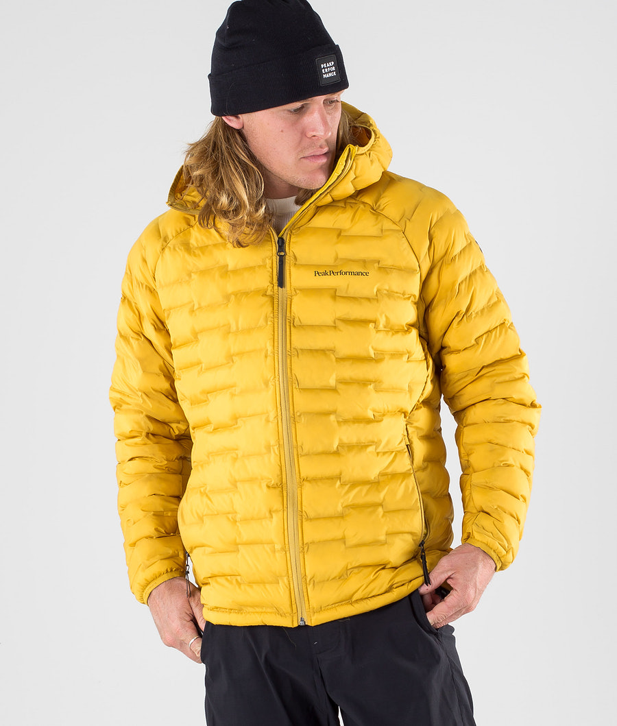Peak Performance Argon Light Jacket Smudge Yellow