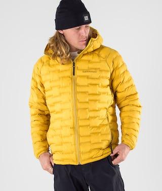 kengät halvalla söpö verkossa myytävänä Peak Performance Argon Light Jacket Smudge Yellow