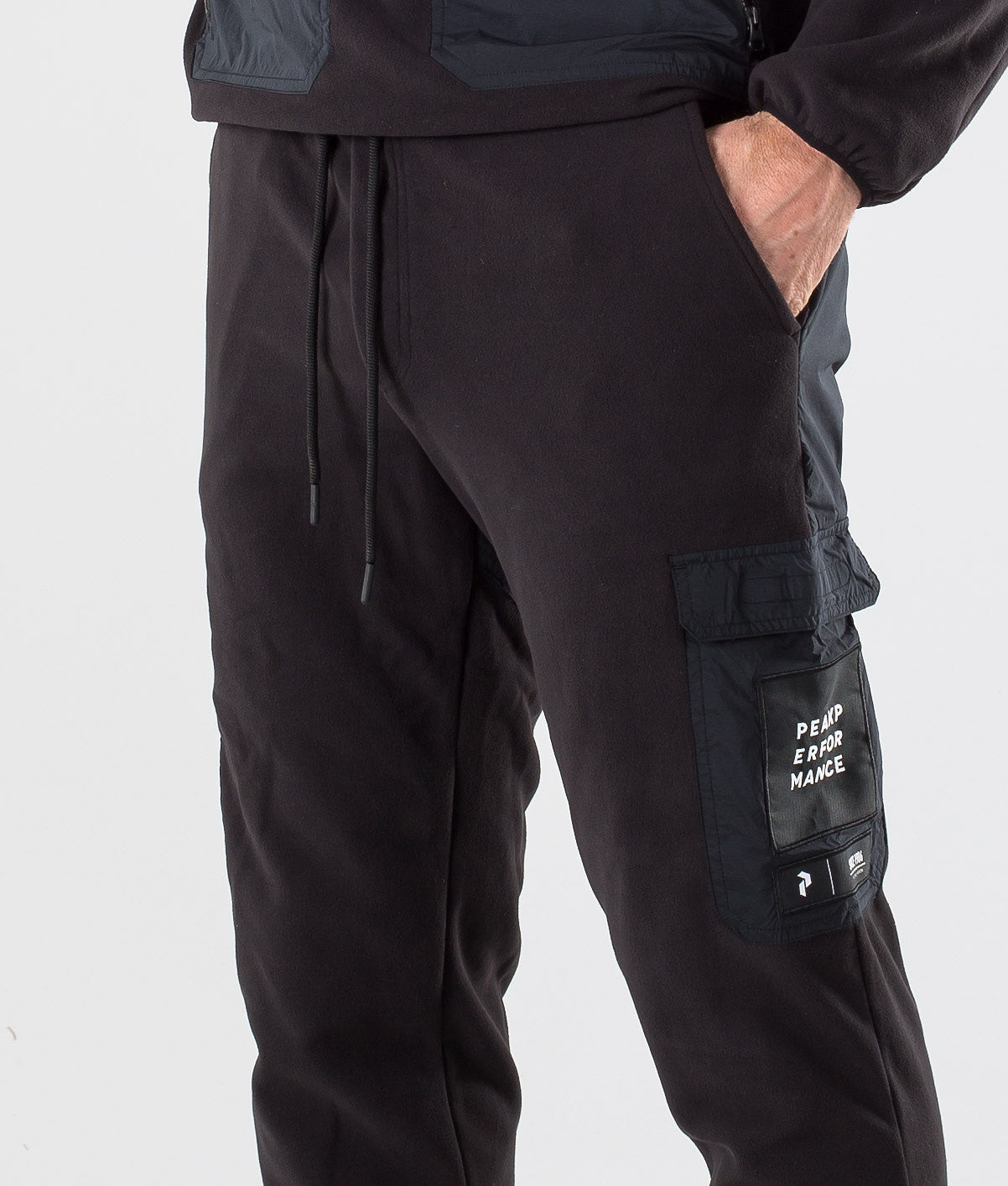Peak Performance 2.0 Fleece Woven Bukser Black